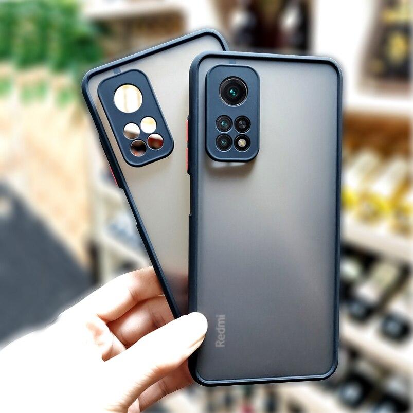 Para Xiaomi Poco X3 NFC M3 F3 Pro Mi 10 T 9, T 10 T Pro caso Redmi Note 10 9 8 7 Pro Max 9S 10S funda protectora para teléfono cubierta 2