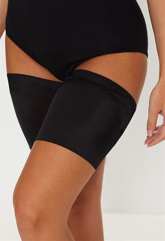 One Pair S-4XL Leg Warmer Thigh Bands Summer Sexy Slimmer High Elastic Thigh Bands Women Anti-skid Socks Thigh Garters Stockings