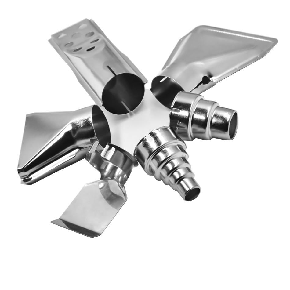 New Hot Universal Heat Gun Resisting Nozzles Industrial Grade Hot Air Gun Wind Mouth Large Diameter  Flat Head Nozz Hot Air Guns