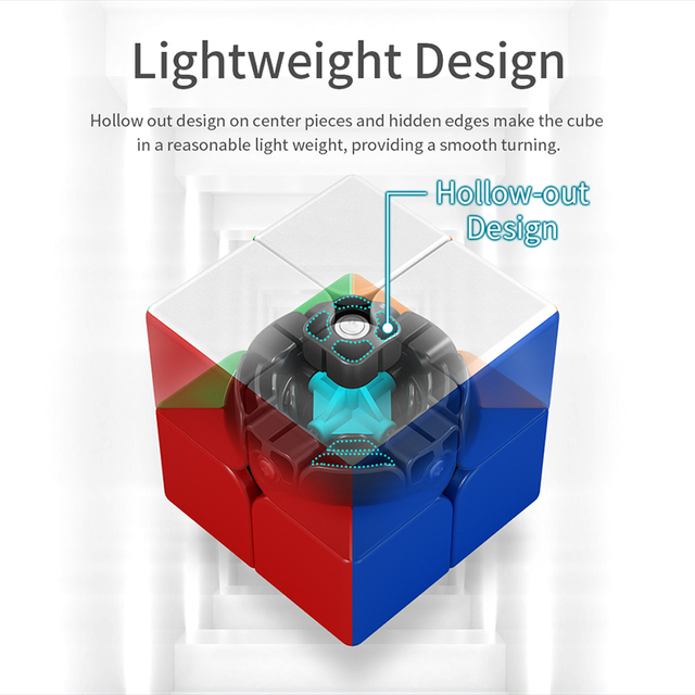 MoYu Meilong M 2×2 3×3 4×4 5×5 Magnetic Magic Cube Toy Magnetic  Cubing Classroom Meilong M 2M 3M 4M 5M Speed Cube Puzzle Toys
