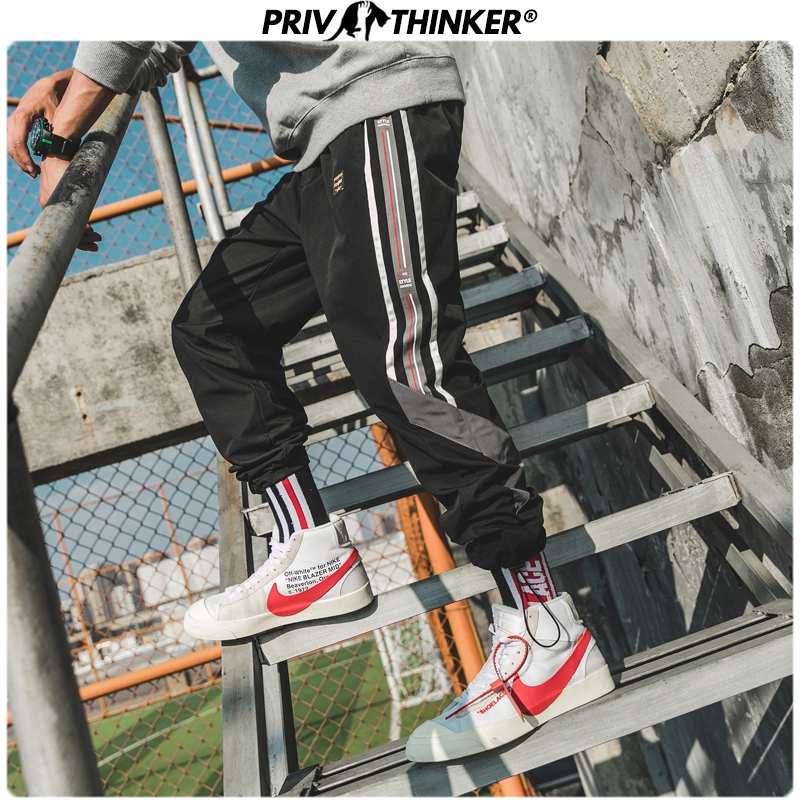 Privathinker Japan Style Autumn Casual Harem Pants Men 2019 New Hip Hop Streetwear Cargo Pants Male Fashion Full Length Joggers