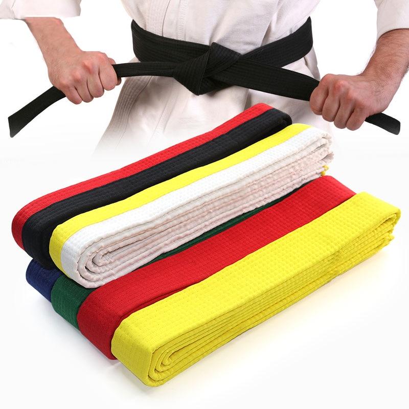 8.5ft/2.6m TaeKwondo Colored Rank Cotton Belts for Martial Arts Karate, Aikido, Taekwondo, Judo