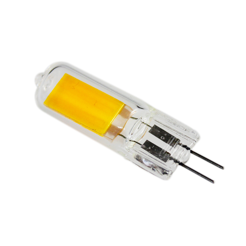 Ampoule Glass G4 6W 9W 12W No Flicker COB LED Lamp AC 220V 230V G4 LED Spotlight Bulb Replace Halogen Light For Home Lamparas