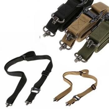 Magorui Hunting Tactical Rifle Gun MS4 Sling Strap Quick Detach QD Swivel Dual 2 Points 2