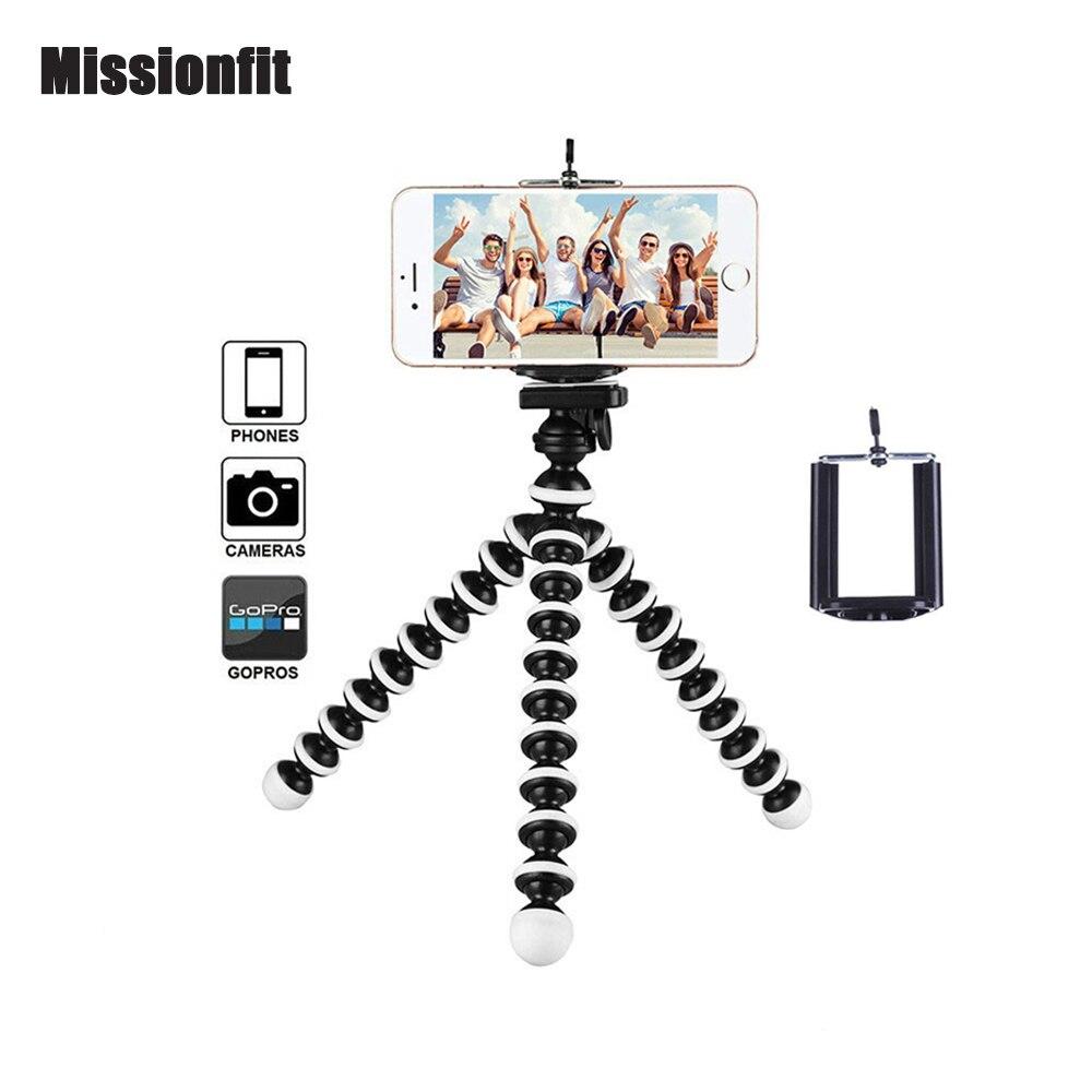 Flexible Tripod Phone Holder Gorillapod For Phone Telefon Mobile Phone Smartphone Dslr Camera Table Desk Mini Tripod Stand