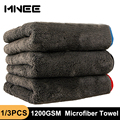 1200GSM Microfiber Towel Car Detailing Towel House Cleaning Cloth Car Drying Polishing Tool Wash Towels for Kitchen 40*40/60cm