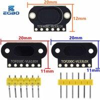 VL6180/VL53L0X/VL53L1X Zeit von Flug (ToF) laser Ranging Sensor Modul TOF050C TOF200C TOF400C 50CM/2M/4M IIC Für Arduino STM32