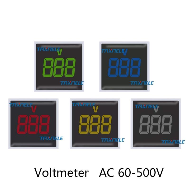 方形电压表