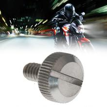 Motorcycle Accessories 1 Pcs Steel Mount Bolt Dashboard 96-17 Backseat Screw Nut On For Sportster Mounting Top L3W0
