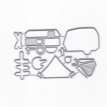 Bus Metal Cutting Dies New 2019 for Craft Scrapbooking Card Making Embossing Die Cut Cover Decor