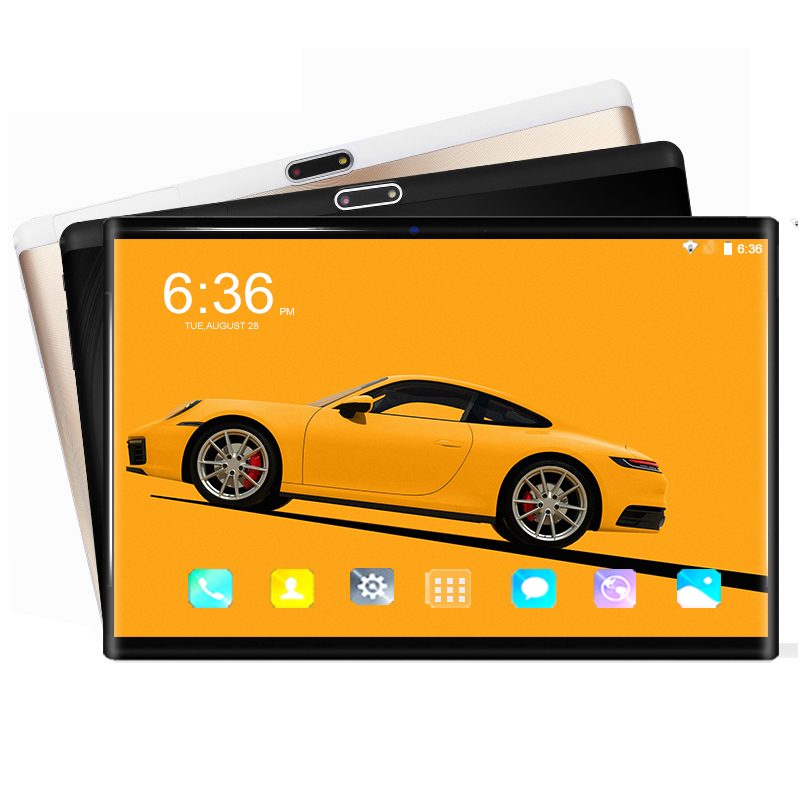 6+64GB 10 Inch 4G Tablet PC Android 8.0 Octa Core Super Tablets Ram 6GB Rom 64GB WiFi GPS 10.1 Phone Tablet IPS Dual SIM GPS