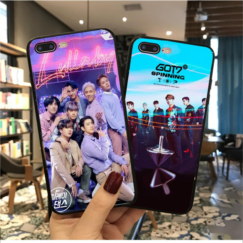 MaiYaCa kpop GOT7 Colorful Cute Phone Accessories Case for Apple iPhone 8 7 6 6S Plus X XS MAX 5 5S SE XR Mobile Cover