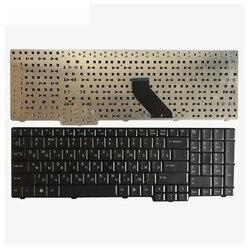 Rosyjski klawiatura do acer TravelMate 5100 5110 5600 5610 5620 obsługi eMachines E528 E728 RU czarna klawiatura laptopa w Zamienne klawiatury od Komputer i biuro na