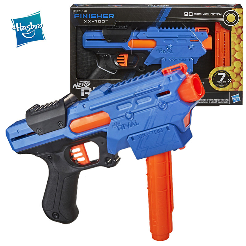 Hasbro Nerf Rival FINIDHER Quick Load Magazine XX-700 Soft Bullet Gun Boy Toy Kids Gifts