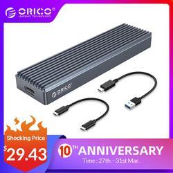 ORICO M2 NVMe SSD Dành Cho NVMe PCIe Khóa M M + B Key SSD Đĩa USB C 10Gbps Ổ Cứng M.2 SSD Hộp Loại C Sang C