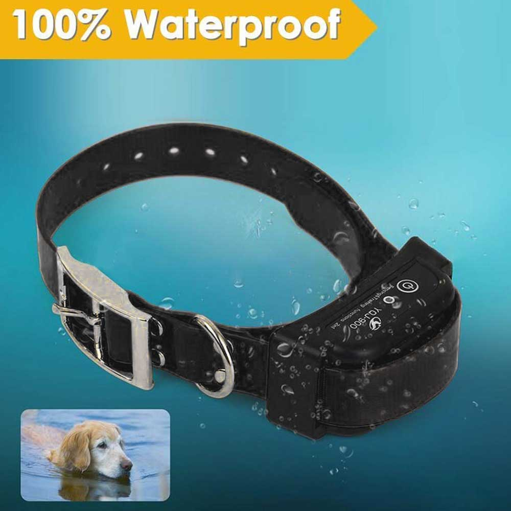 Trigger Distance 1-4M Electronic Fence System For Dogs With Waterproof Vibration Shock Beep Collar Pet Fencing System Device