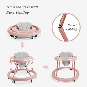 Image 5 - Baby Shining Loopstoeltje Kid S Fiets Vouwen 6 18M Baby Wandelaars Kinderen Lear Lopen Multifunctionele veiligheid Kinderen Fiets