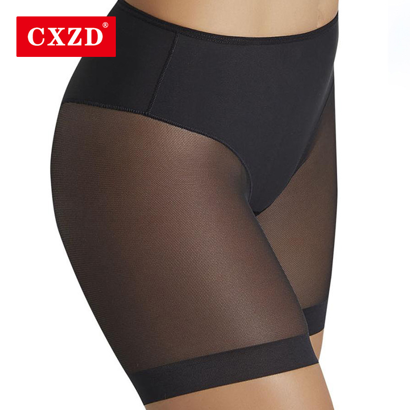 CXZD 2019 control Panties Shaping Panties Body Shaper Breathable High Stretch Seamfree Women\'s Underpants Cloth Splicing Mesh