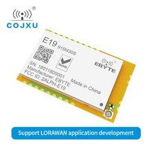 10 teile/los LORAWAN Lora SX1276 915mhz 1W IoT uhf Wireless Empfänger E19 915M30S rf Modul Lange Palette IPX Stempel loch Antenne