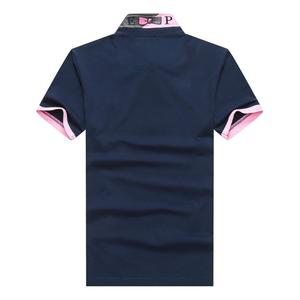 Eden park French men Brand business casual matching pure cotton high quality Male polos Shirts large size M to 3XL