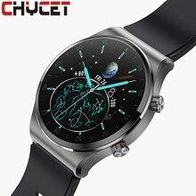 CHYCET חכם שעון גברים Bluetooth שיחת מוסיקה נגן Smartwatch נשים קצב לב כושר גשש ספורט שעונים עבור IOS אנדרואיד