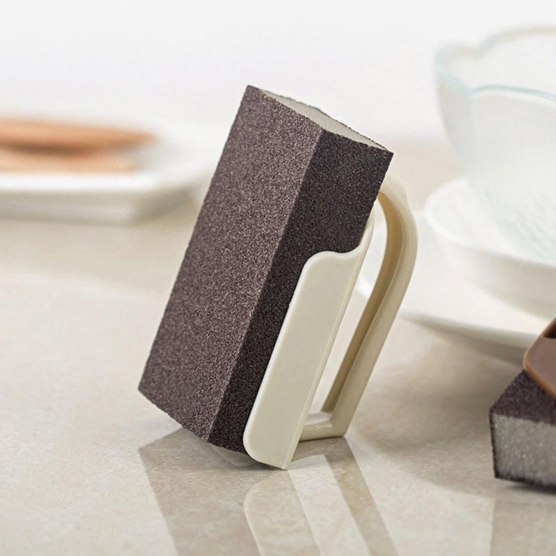 Wonderlife Emery Sponge Nano Melamine Pot Brush For Removing Rust Kitchen Tool Sponge Cleaning Brush Descaling Rub Pot