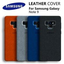 Custodia Samsung Note 9 custodia protettiva originale in vera pelle scamosciata 100% custodia Samsung Galaxy Note 9 Cover Galaxy Note9