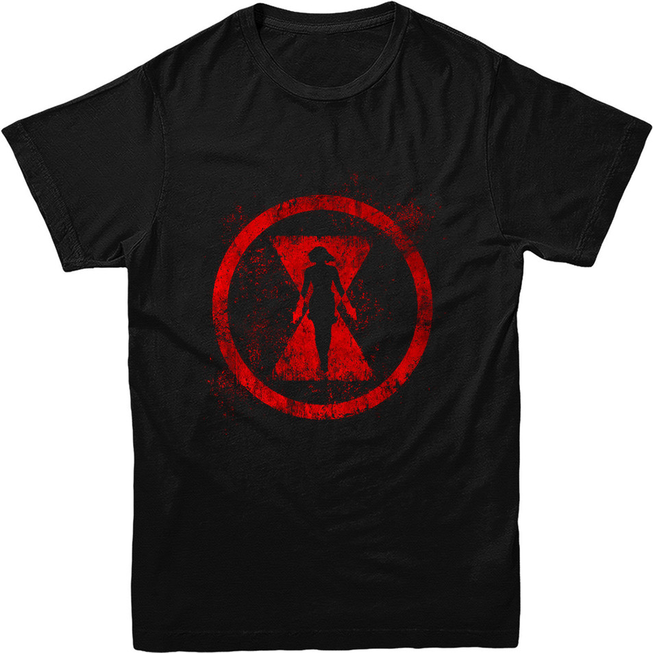 Black Widow T-Shirt Avengers Marvel Comics Gift Unisex Adult & Kids Tee Top Men Clothes Tee Shirt