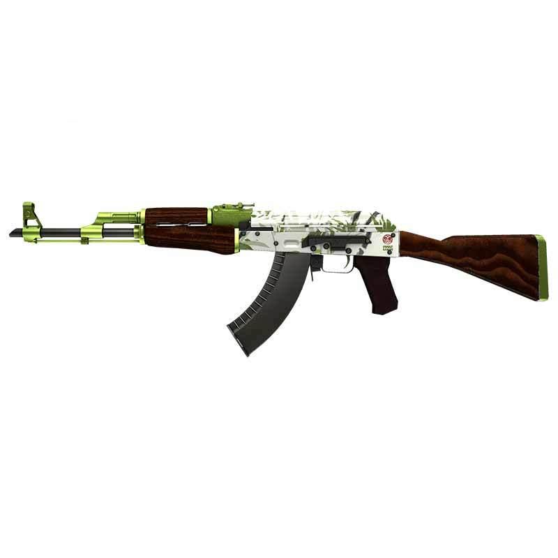 Автомобильная наклейка для CS GO Skin AK 47, модная Водонепроницаемая аниме наклейка на бампер для мотоцикла или автомобиля с окклюзией и царапин...