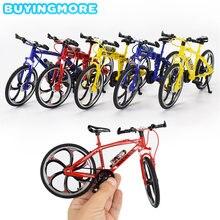 Мини Пальчиковый bmx 1:8 сплав литье под давлением модель велосипеда