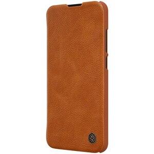 Image 5 - Redmi 8 Case Nillkin Qin Series PU Leather Flip Cover Case for Xiaomi Redmi 8