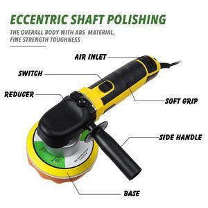 Image 4 - Alta qualidade elétrica dupla ação choque polisher 220v polimento máquina de depilação velocidade ajustável auto lock aleatório