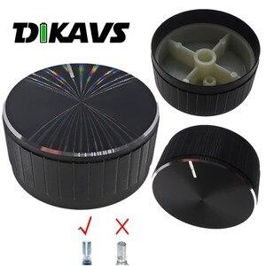 Потенциометр 40X19 мм, вращающаяся рукоятка кодировщика, аудио, цвет черный