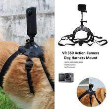 цена на Dog Action Camera Harness Shoot Fetch Insta360 One X Gopro Mount Accessory GoPro Accessories Action Camera Vr Camera Gimbal
