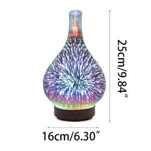 Image 5 - 3D Firework Night Light Ultrasonic Essential Oil Diffuser AU US UK EU Aroma Aromatherapy Fine Fog Humidifier Anti Slip Base Room