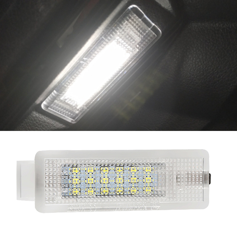 1PCS No Error Car <font><b>Led</b></font> Luggage <font><b>Lights</b></font> For VW <font><b>GOLF</b></font> <font><b>4</b></font>/5/6 Trunk Boot <font><b>Lights</b></font> 12V 6000K White CANBUS For Volkswagen Jetta Passat Polo image