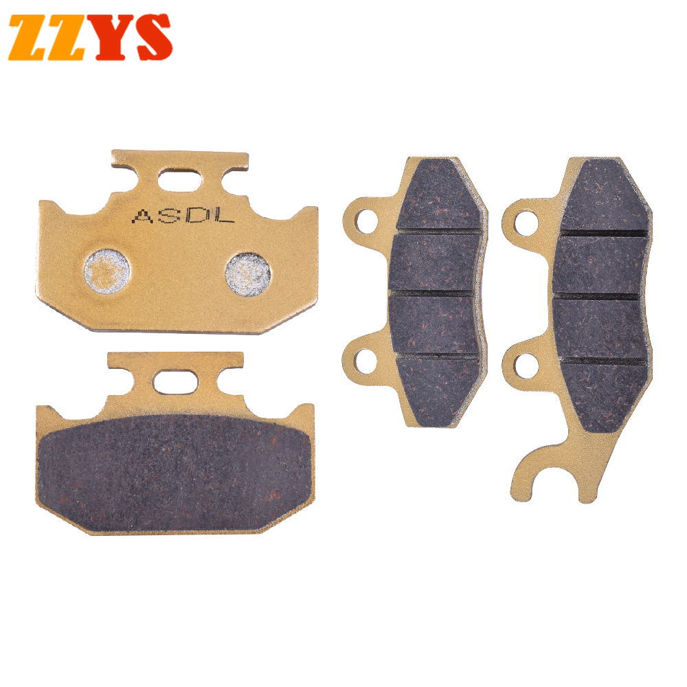 Motorcycle Front & Rear Brake Pads For SUZUKI TS 125 TS125 TS 200 TS200 RM 125 RM125 RMX250 RMX 250 DR250 DR 250 DR 350 DR350
