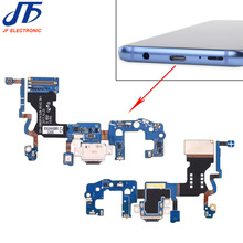 10 adet/grup Samsung Galaxy S9 G960F g960u S9 + artı G965F g965u USB şarj şarj portu dock konektör esnek kablo değiştirme