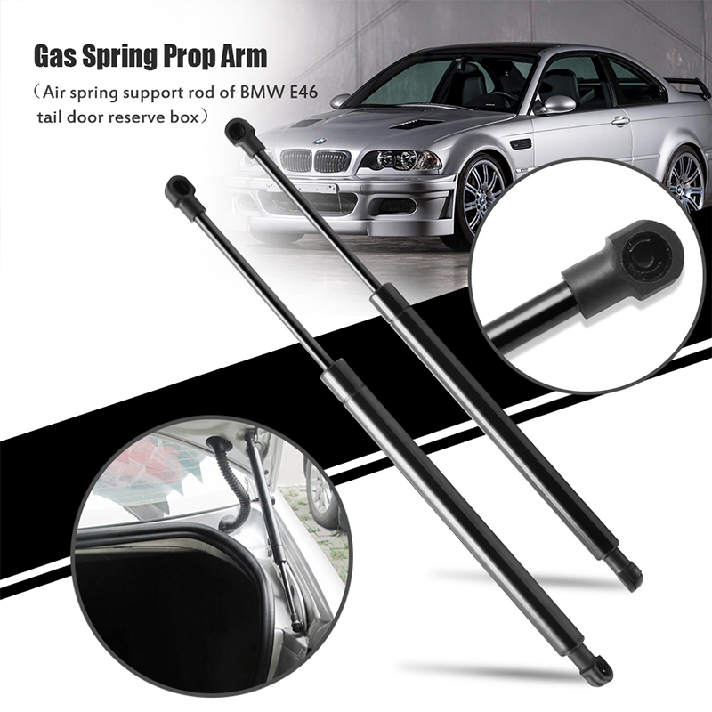 2 FRONT HOOD LIFT SUPPORTS SHOCKS STRUTS ARMS PROP RODS DAMPER FITS BMW M3 E46