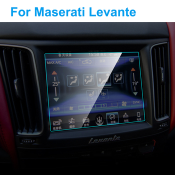 Car GPS Navigation Screen Protector for Maserati Levante Interior 2016-19 Tempered Glass Screen Protective Film Car Accessories image