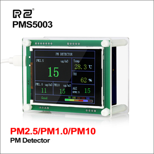 """Image 1 - RZ 2.8"""" Car PM2.5 Detector Tester Meter Air Quality Monitor Home Gas Thermometer Analysis For Home Car Office Outdoors"""
