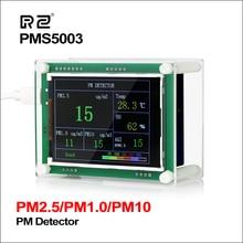 "RZ 2.8 ""רכב PM2.5 גלאי Tester Meter אוויר באיכות צג גז ביתי מדחום ניתוח לבית רכב משרד בחוץ"