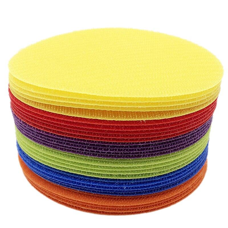 Carpet Markers Sitting Spots, Kids Sport Spot Circles for Classroom Preschool Kindergarten Elementary Teachers (30 Pack)
