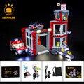 Светильник  светодиодный светильник  комплект для пожарной станции серии City 60215  строительные блоки  светильник  комплект (не включает модел...