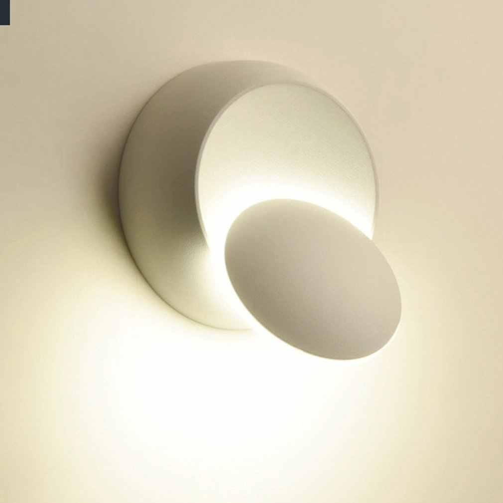 Adjustable LED Wall Lamp 360 Degree Rotation Aluminum Light Home Decoration New