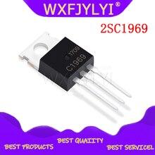 10pcs 2SC1969 C1969 כדי 220 RF כוח HF/VHF טרנזיסטור EPITAX