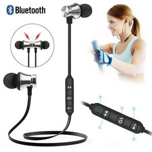 Беспроводные стереонаушники Bluetooth V4.2, Спортивная гарнитура для IPhone X, XS, 7, 8, Samsung S8, S9, S10, Xiaomi 9, водонепроницаемые наушники с микрофоном
