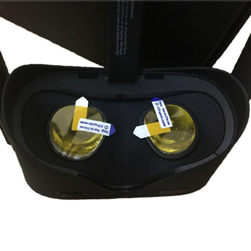 4 pçs/set anti-risco vr lente protetor de película protetora para oculus quest/rift s vr óculos acessórios 634a