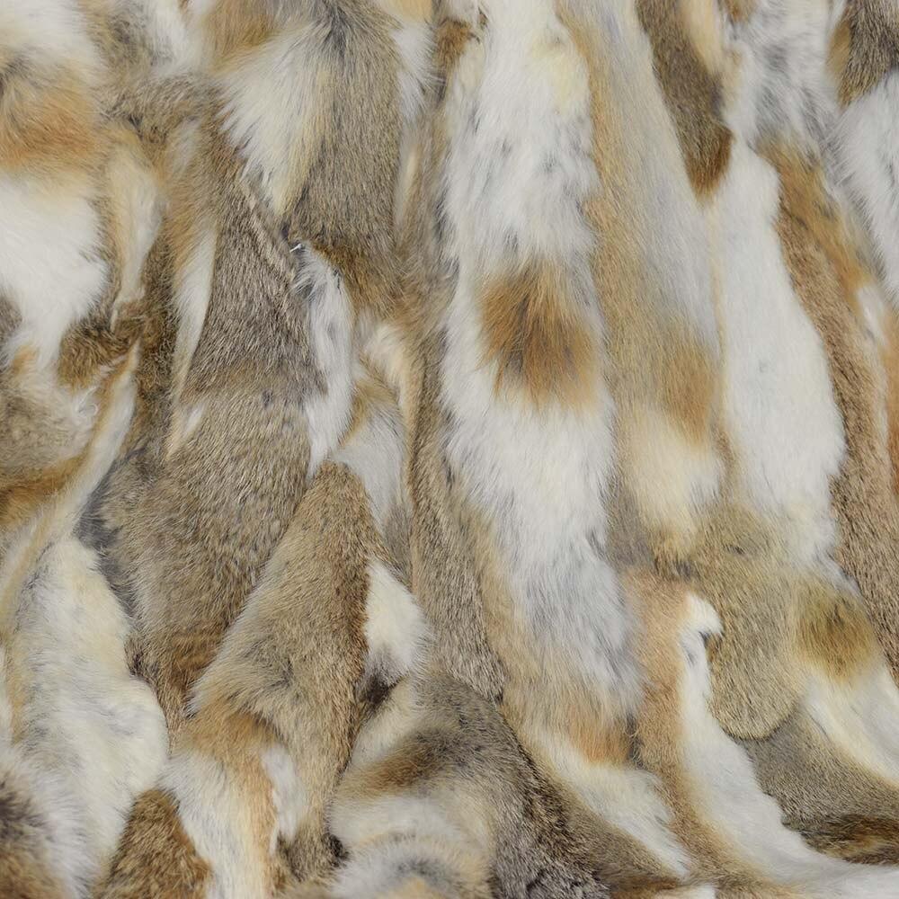 rabbit fur throws (4)