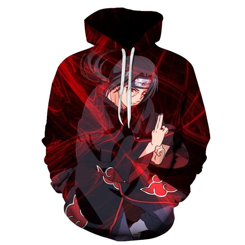 Animation Naruto Houdie Uzumaki Boruto Naruto Uchiha Sasuke Akatusuki Sweatshirt Dress Blouse